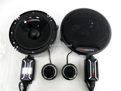 Speaker Split Nakamichi 6 In nakamichi sp cs63 6 quot 2 way component car speakers 320w ebay