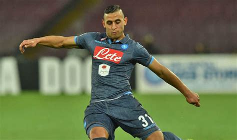 real madrid real madrid mulling move for ghoulam as cover for faouzi ghoulam determined to stay at napoli this summer