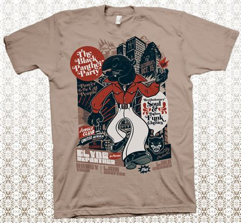 design a t shirt party the black panther party t shirt design