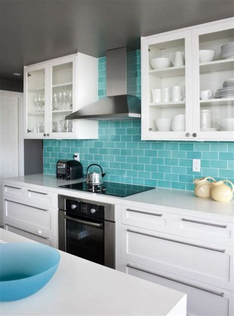 Modern Kitchen Wall Colors Wall Color Turquoise For A Modern Home Fresh Design Pedia