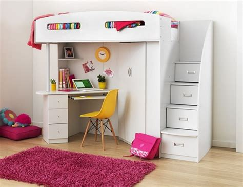 Loft Bunk Bed With Desk And Storage by Bunk Bed With Desk Underneath The Best Furniture For Your