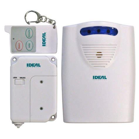 Wireless Garage Door Sensor by Ideal Security Wireless Garage Door Sensor With Alert