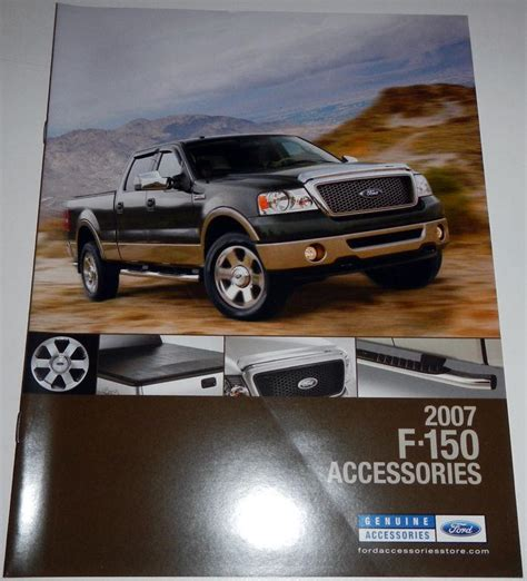 ford accessories brochure buy 2007 ford f 150 accessories brochure motorcycle in