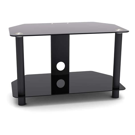 proht 5448 2 shelf tv stand up to 32 quot black