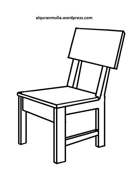 Kursi Untuk Anak mewarnai gambar kursi anak muslim alqur anmulia