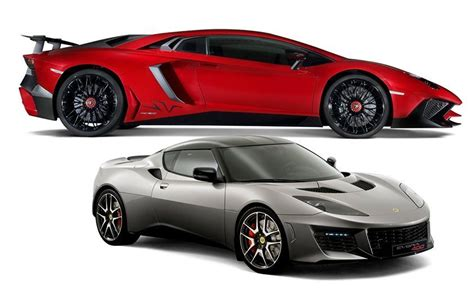new car lamborghini and lotus for 2016 what s new feature car