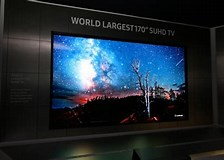 Image result for Biggest TV in The world. Size: 224 x 160. Source: www.ibtimes.co.uk