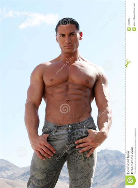 best stock photos of photo handsome man showing cell phone black sexy handsome male model with washboard abs royalty free