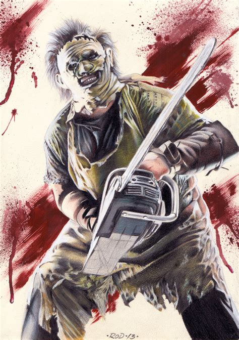 leatherface by rodfantart on deviantart