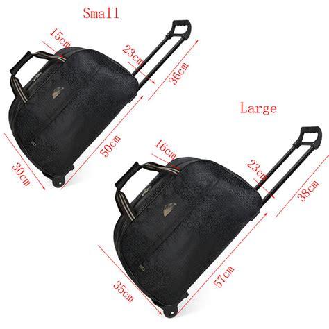 tas koper duffel trolley traveling size l black jakartanotebook