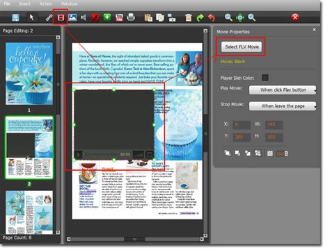 tutorial movie maker pdf español page flip book maker how to make a pdf to flash flipping