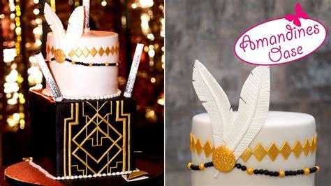 Hochzeitstorte 20er Jahre by 20er Jahre Torte Great Gatsby Cake Deco