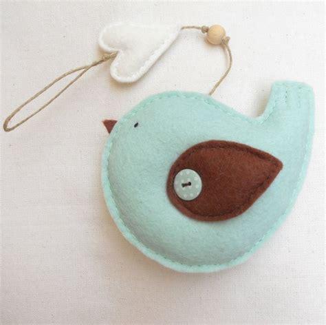 pattern felt bird ornament pdf pattern felt bird with heart ornament felt ornament