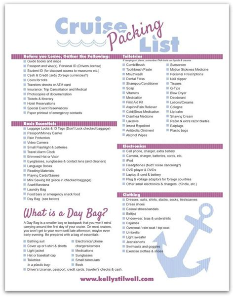 6 tips for vacation packing free printable vacation