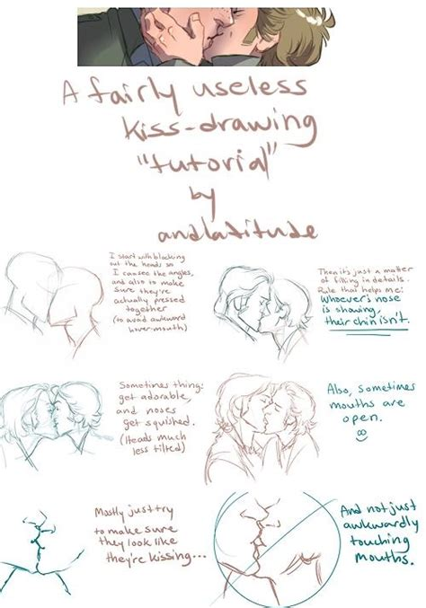 tutorial kiss kiss drawing tutorial drawing tips pinterest
