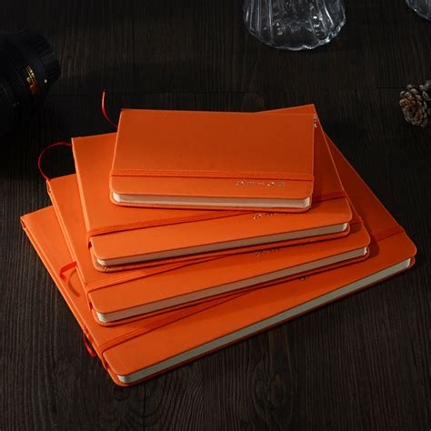 A5 B5 Diary Notebook leather notebook paper 80 sheets business diary school