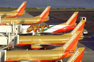 southwest airlines colors in praise of ochre