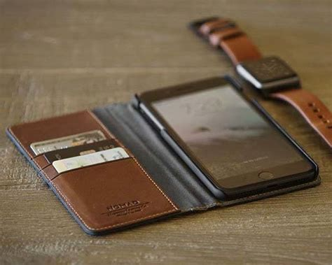 Nomad Wallet Card For Iphone X nomad leather folio iphone wallet for 7 7 plus gadgetsin