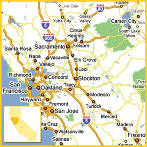 map of fresno california and surrounding area san francisco map and surrounding area