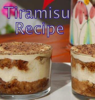 superb tiramisu recipe individaul italian mediterranean desserts