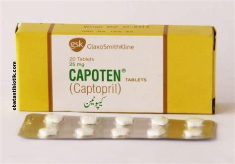 Obat Captopril 6 obat untuk darah tinggi di apotik yang uh dan berkhasiat