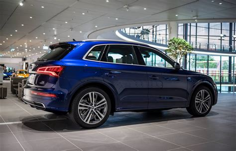 audi q5 blue 2017 audi q5 in navarra blue metallic on display in
