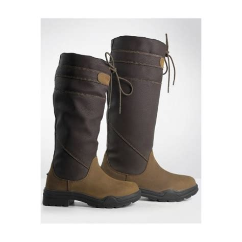 County Boots Brown brogini derbyshire country boot brown