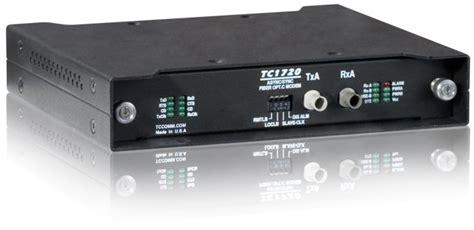 Modem Fiber Optic Speedy Tc1720 Rs 422 449 High Speed Fiber Optic Modem Tc Communications