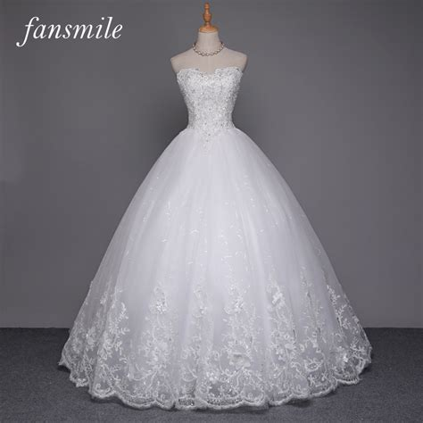 Lspowg65 Wedding Dress Quality fansmile quality see through lace gown wedding dress 2016 vestidos de novia plus size