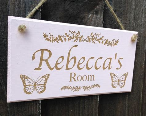 bedroom name signs bedroom door signs names personalised bedroom door sign
