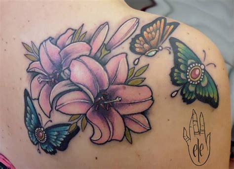 Neo Trad Butterfly Tattoo | neo traditional butterfly tattoo google search my