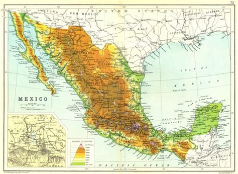 physical mexico map best photos of physical map of mexico physical detailed