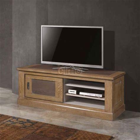 decoration de salon 3347 meuble tv 100 ch 234 ne massif de 1 porte coulissante
