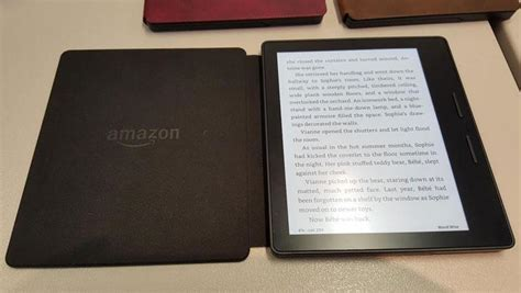 amazon oasis hands on amazon kindle oasis pcmag com