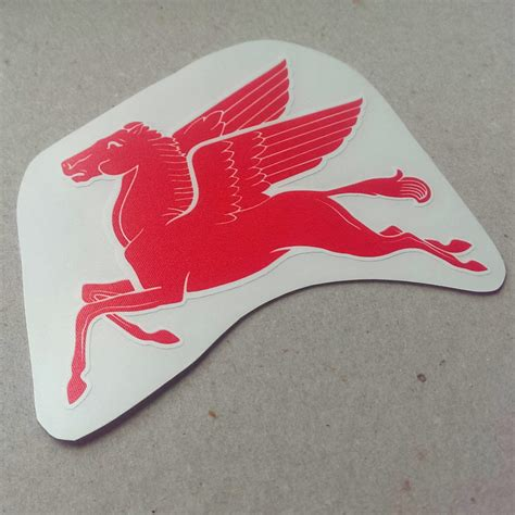 Sticker Logo Mobil mobil pegasus vintage logo sticker by car bone flatsix design choice gear