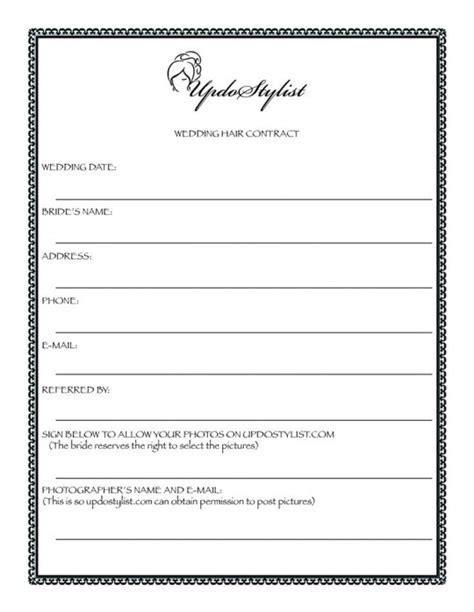 makeup artist contracts template makeup vidalondon