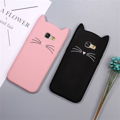 Casing 3d Print Samsung Galaxy A3 A5 2017 Louis Vuitton Logo X4 cat for samsung galaxy