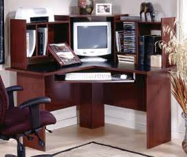 Cherry Wood Corner Desk Corner Computer Desks