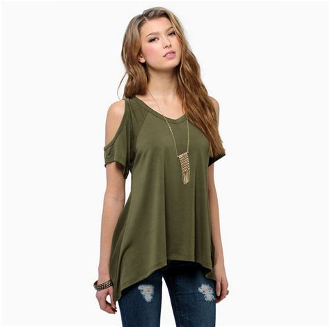 amazon off the shoulder shirts tops tees brand new off the shoulder womens tops fashion 2015 black