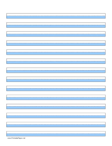 printable lined paper blue printable highlighter paper blue 14 lines
