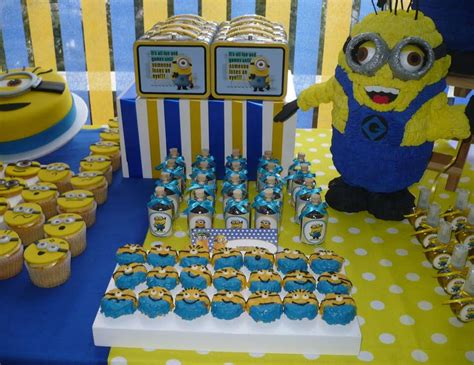Minion Themed Baby Shower by Despicable Me Minions Birthday Quot Minions Quot Catch