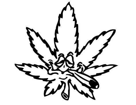 weed leaf coloring page free coloring pages of stoned marijuana