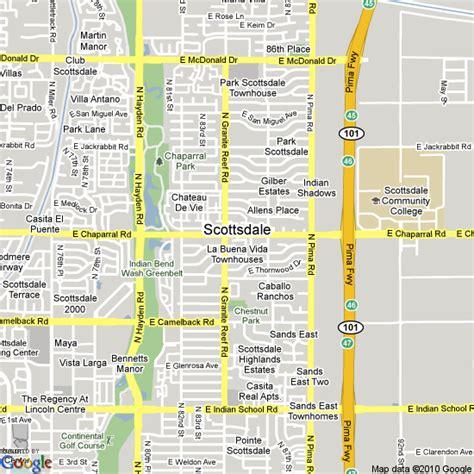 us map scottsdale arizona map of scottsdale united states hotels accommodation