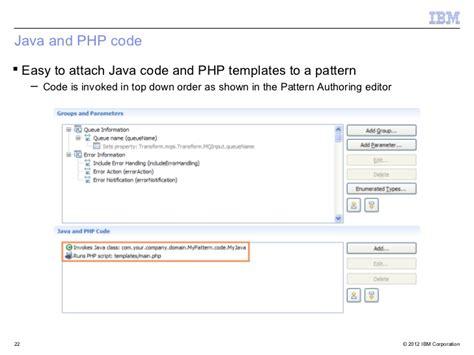 pattern broker java introduction to patterns in websphere message broker