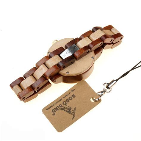 Jam Tangan Kayu Wanita Bobo Bird B0 bobo bird jam tangan kayu analog wanita m19 brown