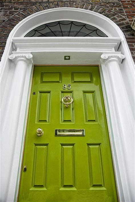 lime green door a lime green front door in ireland portals pinterest