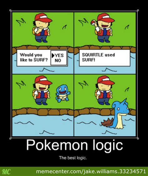 Pokemon Logic Meme - pokemon logic meme images pokemon images