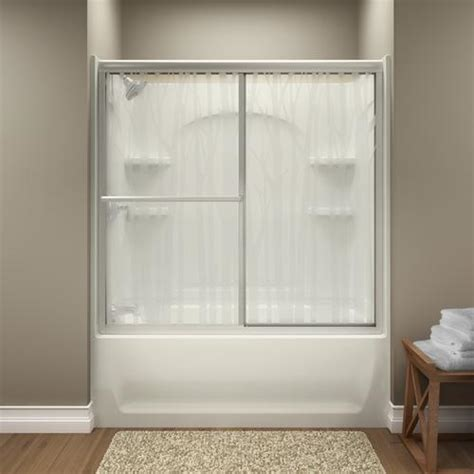 Menards Shower Doors by Sterling Deluxe By Pass Bath Door At Menards 174
