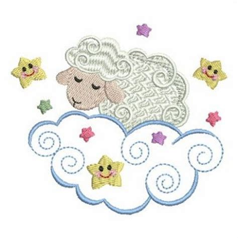 embroidery design lamb sweet heirloom embroidery design sleepy sheep 3 38 inches