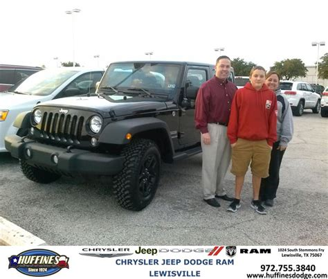 Huffines Jeep Lewisville Thank You To Jonathan Daugherty On Your New 2014